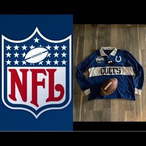 🆕🏈 NFL INDI COLTS HENLEY JERSEY🏈🆕